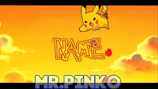 |Intro Template By|Mr.Pinko|Sony Vegas Pro 12,13|#58|BCC, Sapphire|Pokemon Go|Style|Pikachy intro|