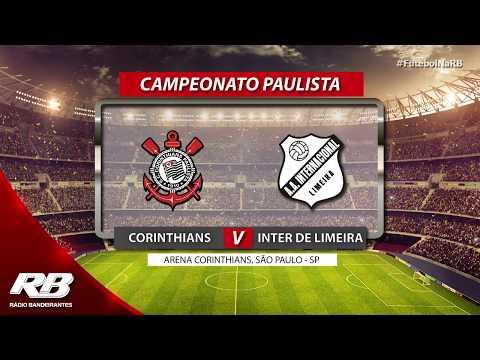 🔴Campeonato Paulista - Corinthians x Inter de Limeira - 09/02/2020 - AO VIVO