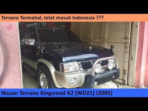 Nissan Terrano Kingsroad K2 [WD21] (2005) review - Indonesia