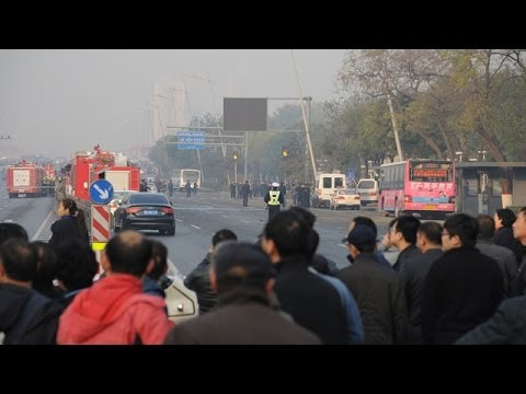 Taiyuan, China: Communist party office devastated by explosions