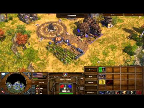 Age of Empires 3: The Warchiefs - 01 - War Dance Walkthrough Gameplay