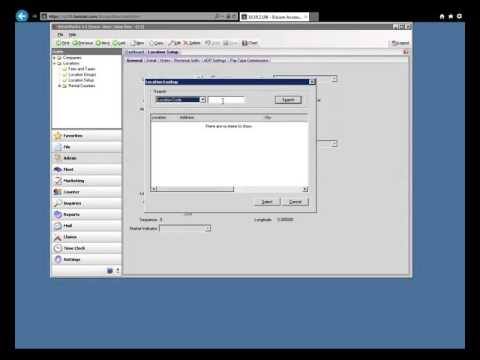 Fleet Management Software: LoanerTrack Setup