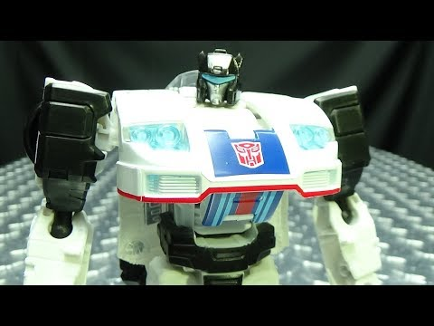 Power of the Primes Deluxe JAZZ: EmGo's Transformers Reviews N' Stuff