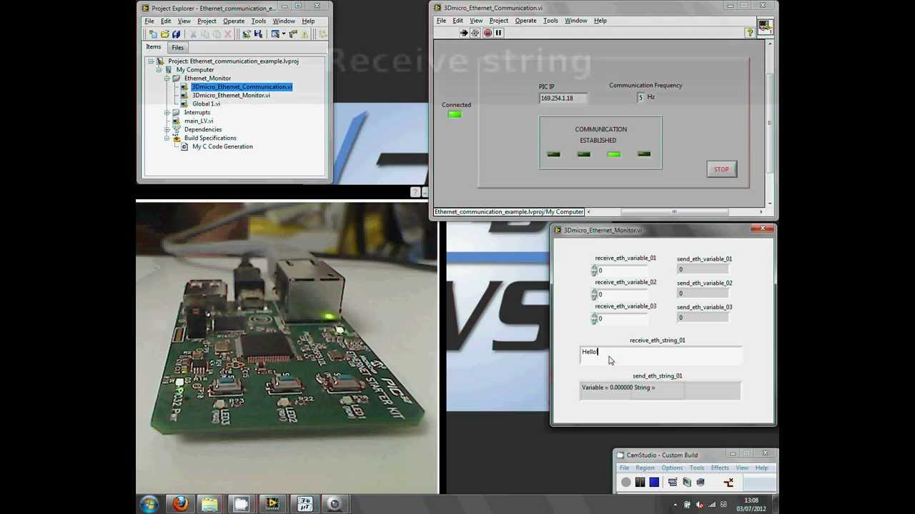 Ethernet example video tutorial 3dmicro toolkit youtube baditri Images
