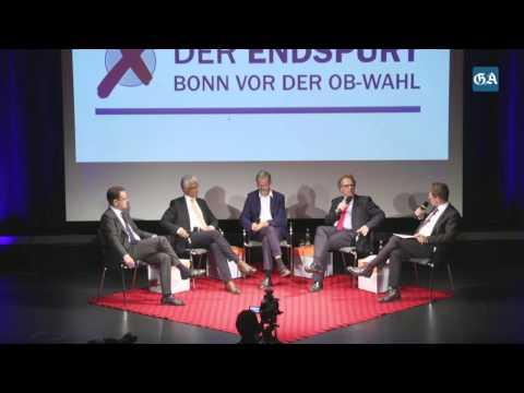 GA-Wahlforum zur OB-Wahl in Bonn - Teil 1
