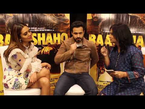 Exclusive Interview with Emraan Hashmi and Esha gupta for Baadshaho
