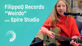 FilippaQ Records 'Weirdo' on Spire Studio