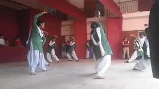 Dance practise of hijli high school 2019