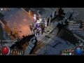 Path of Exile - Necromancer - Ridiculous 60+ minions build - ACT 7 and beyond!