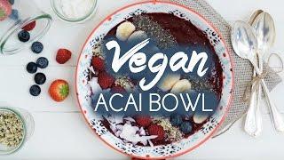 All Time Fave Acai Bowl + I created a Cookbook?!  Lena Born