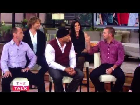 NCIS: Los Angeles Cast on The Talk - David Olsen does all the stunts!