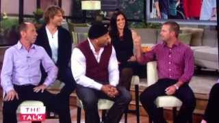 "NCIS: Los Angeles Cast on The Talk - David Olsen ""does all the stunts""!"