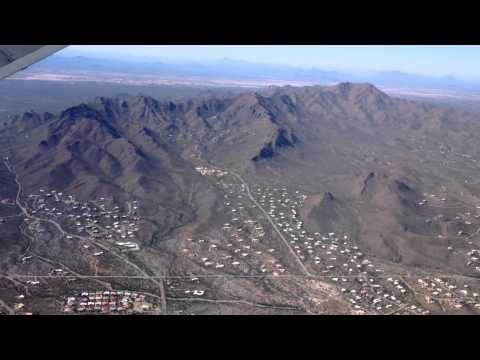 Tucson Mts from jet