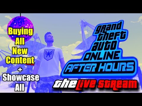 GTA 5 Online AFTER HOURS (Buying All New Content, See Index) - Game Vlog #23 [PS4]