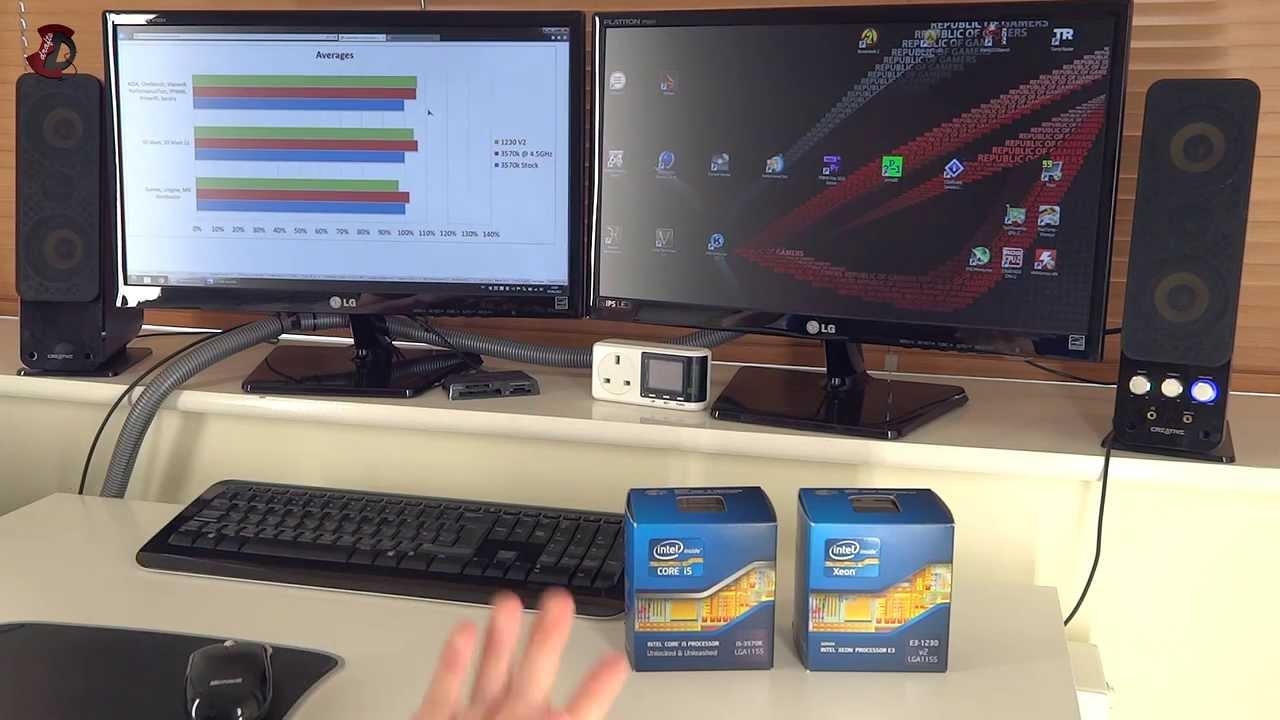 Xeon Vs I5 Gaming