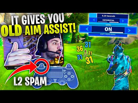 L2 Spam Is BACK!! How To Enable The OLD Aim Assist! (Fortnite Chapter 2)