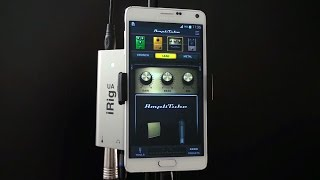 Using AmpliTube UA - Your guitar tone on your Android phone(http://www.ikmultimedia.com/amplitubeua/ for more information Get it on Google play now!, 2015-04-15T15:39:24.000Z)