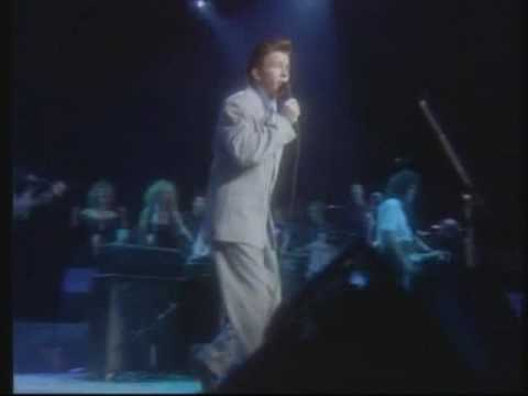 Rick Astley  -  Never gonna give you up (1988 live)