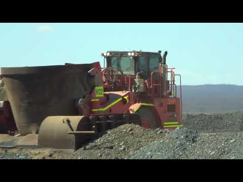 BHP Nickel West - Slag Pot Carrier - Hot Slag Dump