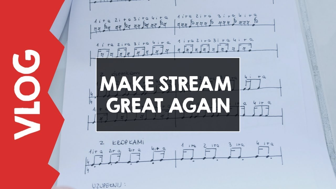 #MAKE STREAM GREAT AGAIN