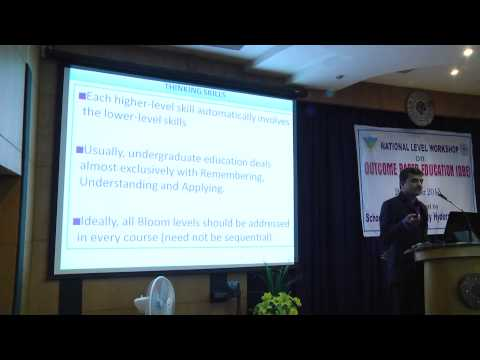 Sess I:Outcome Based Education (OBE) / NBA Accreditation ,Dr.S.Viswanadha Raju, Prof. of CSE,JNTUH