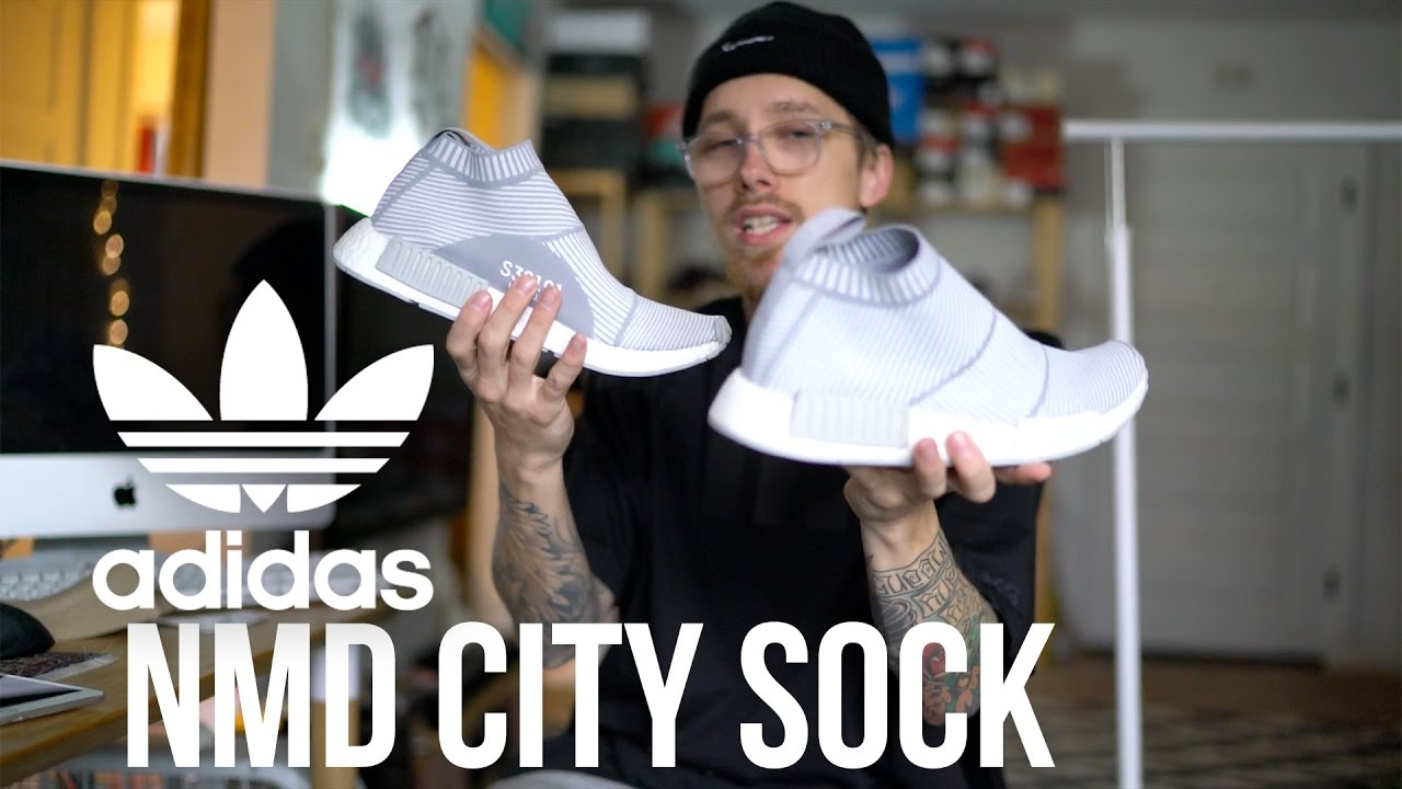 I FINALLY GOT ONE OF MY GRAIL SHOES   Adidas NMD CS1 (City Sock)