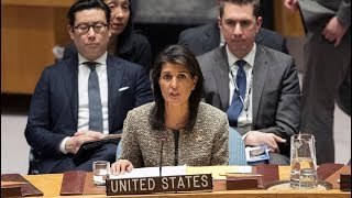 BREAKING NEWS: UN Ambassador Nikki Haley Gives URGENT Speech at the General Assembly 1-23-18