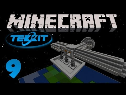 Minecraft Tekkit MB [Part 9] - The Space Station