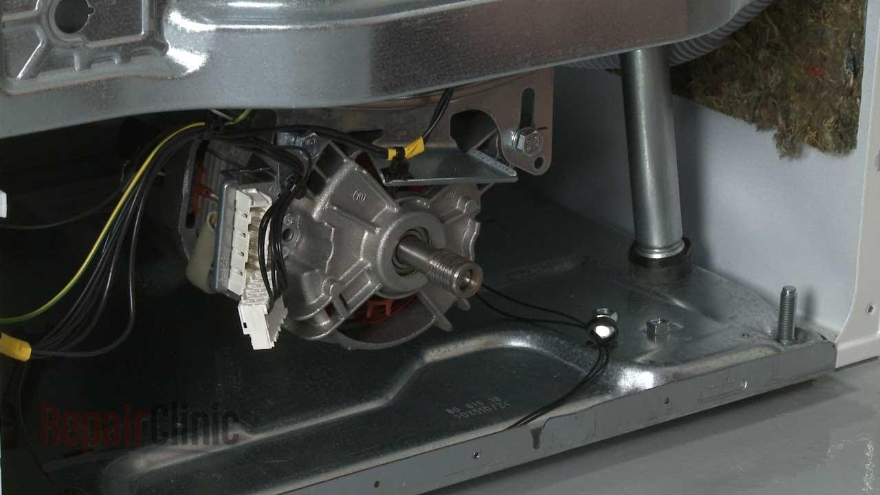 Asko washer drive motor replacement 8088099 youtube for Washing machine drive motor
