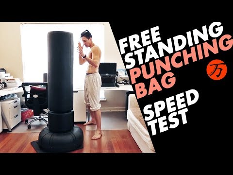 BEST Free Standing Punching Bag, SPEED TEST