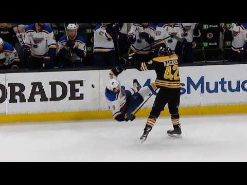 Check out the best hits of the 2019 Stanley Cup Final