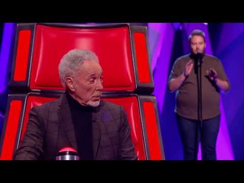 """David Jackson performs """"All I Want"""" Blind Audition - The Voice UK 2017"""