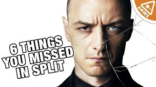 6 Startling Split Details You May Have Missed! (Nerdist News w/ Jessica Chobot)