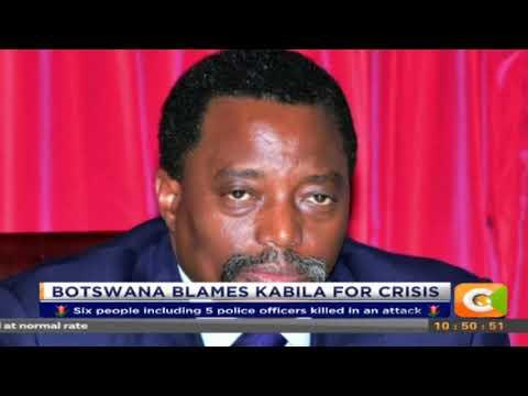 Citizen Extra: Botswana Blames Kabila for Crisis