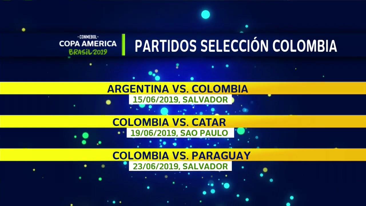 Calendario Copa.Papel Y Lapiz Asi Es El Calendario De La Seleccion Colombia En La Copa America De Brasil 2019