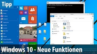 Windows 10 TP - Neue Funktionen im Test   deutsch / german