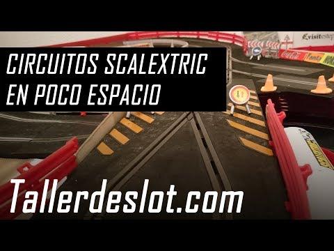 ▷ Cómo montar un circuito Scalextric en poco espacio 【 Trucos y consejos 】