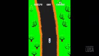 Spy Hunter - 1983 (Gameplay)