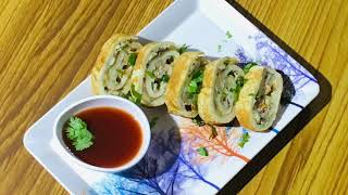 Spicy Swiss Roll Recipe InMalayalam /...Rubu's World