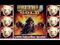 Buffalo Gold Slot Machine - BIG WIN! - 1K Subscriber Special!