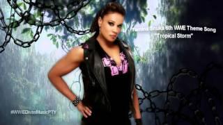 "Tamina Snuka 6th WWE Theme Song - ""Tropical Storm"""