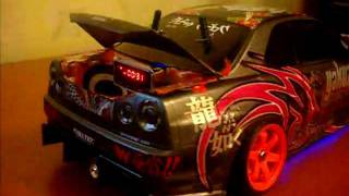 RC Drift Nissan Skyline r-34 Sound