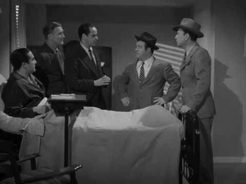 Abbott and Costello - Shooting (Hit the Ice, 1943)