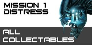 Aliens: Colonial Marines - All Collectibles - Mission 1