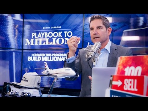 Grant Cardone Read's How to Become a Millionaire Booklet