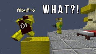 Godbridger solo queuing BedWars (carrying random players) screenshot 4