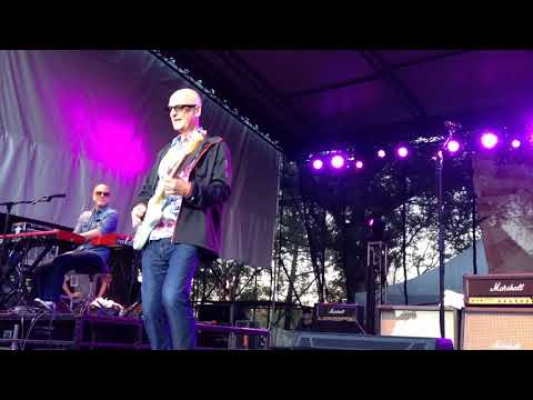 Kim Mitchell rocks out during encore performance of Go for a Soda at Rock the River