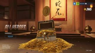 OVERWATCH เปิด loot box 150 กล่อง [Loot Box Opening]