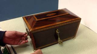 Regency Period 1800  1810 Tea Caddy