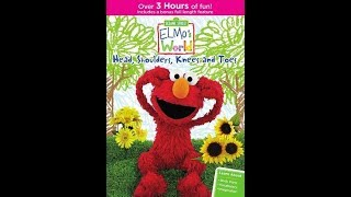 Elmo's World: Head, Shoulders, Knees And Toes (2015 DVD)